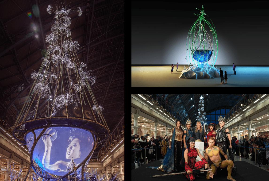 Cirque du Soleil Christmas Tree