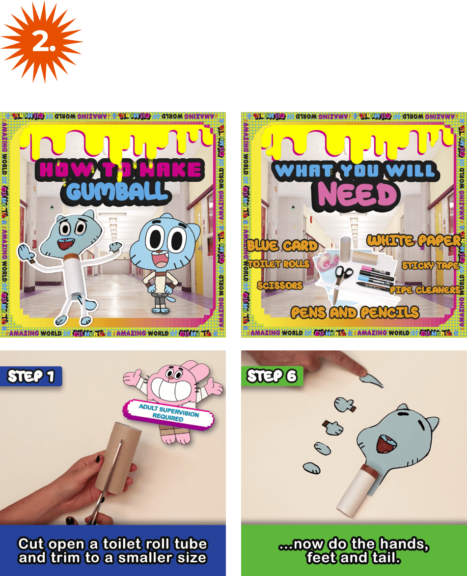 Gumball how to