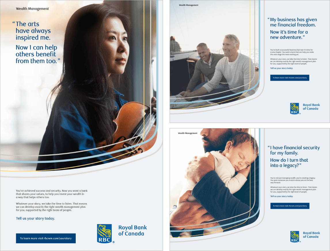 RBC Brand Awareness Ads