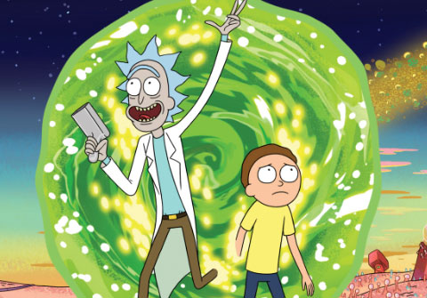 Rick & Morty Season 4 Social Campaign